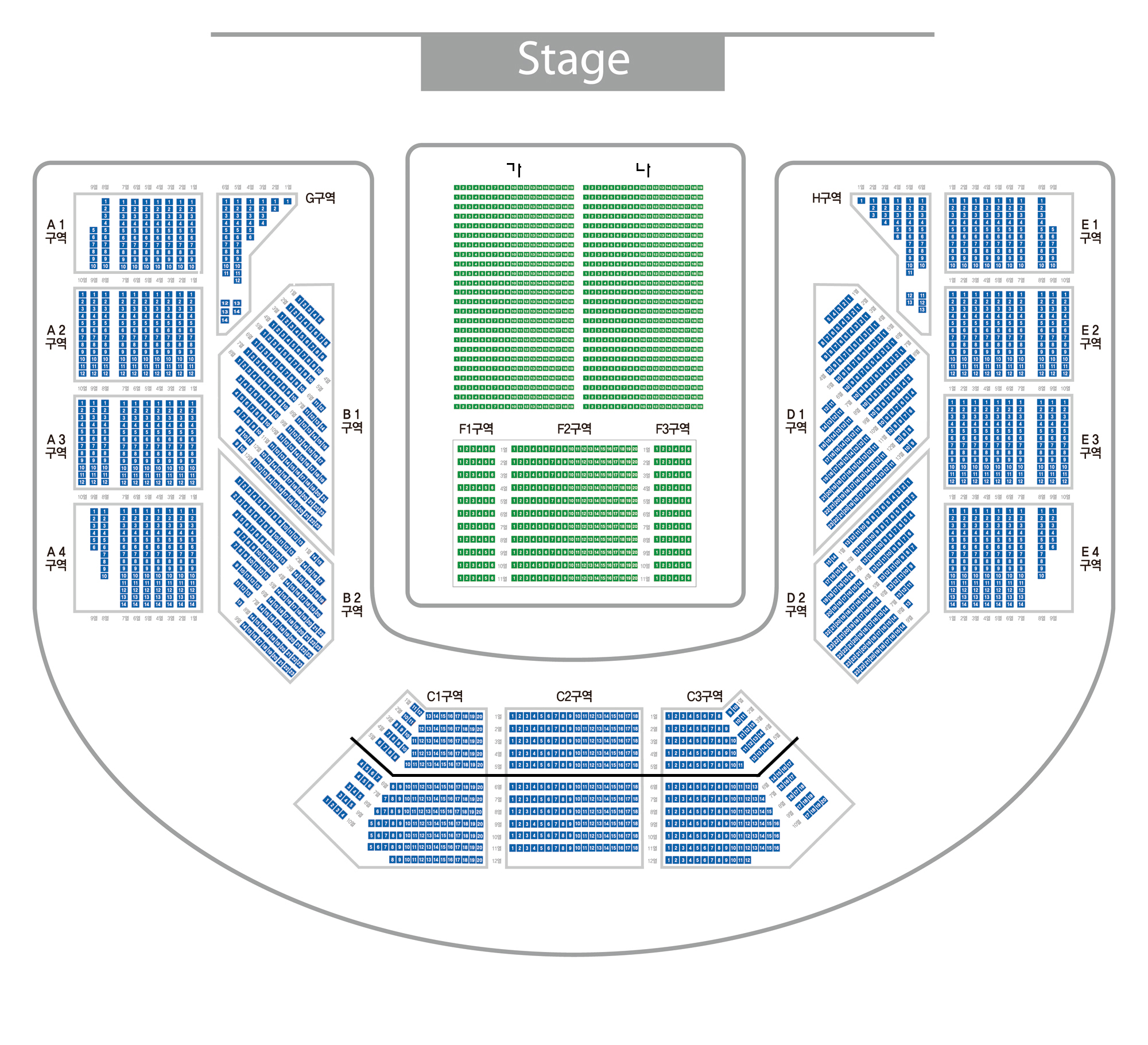[Info] BLUESTORM Concert Seating Plan