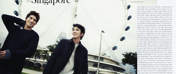 Jung Yonghwa Ve Lee Jonghyun Marie Claire Ocak 2013 Say�s�nda /// 22.12.2012