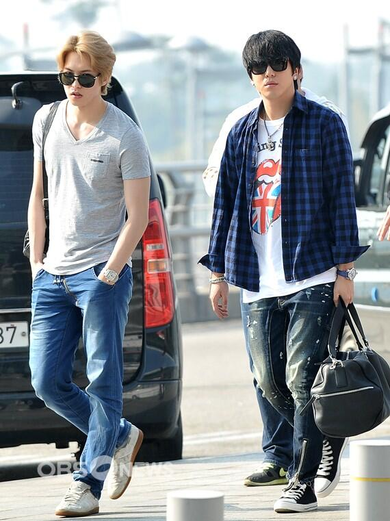 130509 CNBLUE @ Incheon Airport to Hong Kong (3)