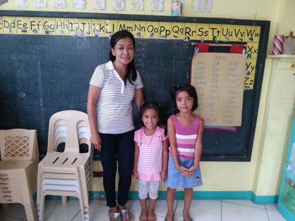 On the photo are Maureen (center) and Margaret (right side) who are one of our beneficiaries for this project.