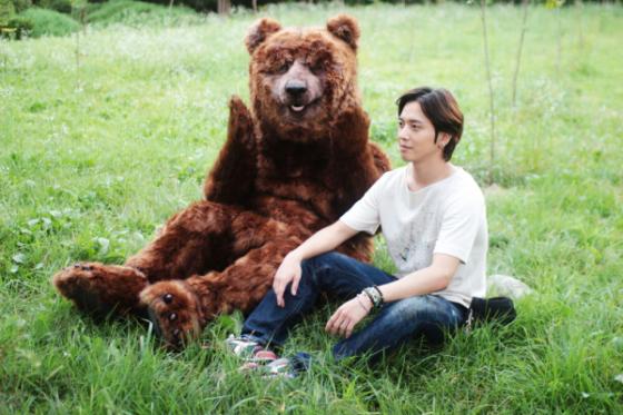 yonghwa & papa bear