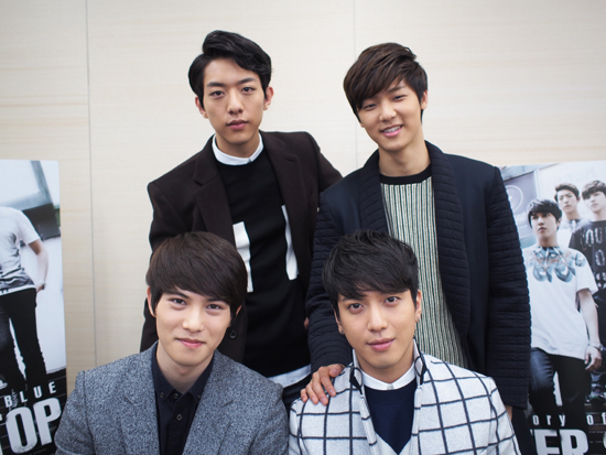 [R�PORTAJ] CN Blue Excite MUSIC /// 17.02.2014