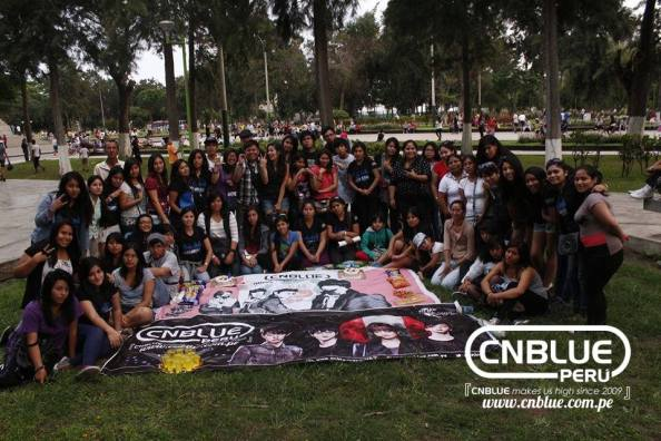 CNBLUE PERU is the first fanclub of CNBLUE in Peru, we have been supporting CNBLUE since 2009, promoting this 4 awesome musicians that we admire as musicians and as wonderful human beings. We will always be by their side supporting their dreams and goals. Top of the world with CNBLUE, Boice and CNBLUE are one.