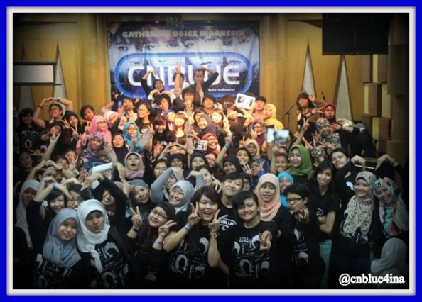 2nd Gathering Boice Indonesia to celebrated 1st Anniversary CNBLUE4INA