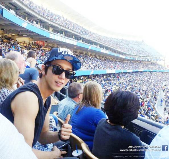 JYH at LA Dodgers