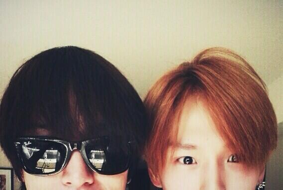 20140611 Yonghwa w/ BAP Himchan
