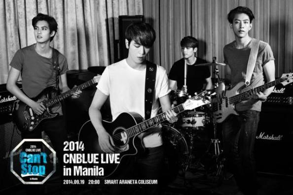 CNBLUE Can't Stop in Manila