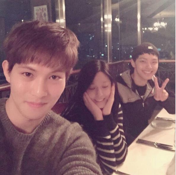 cnbluegt IG - seolhyun + jin goo
