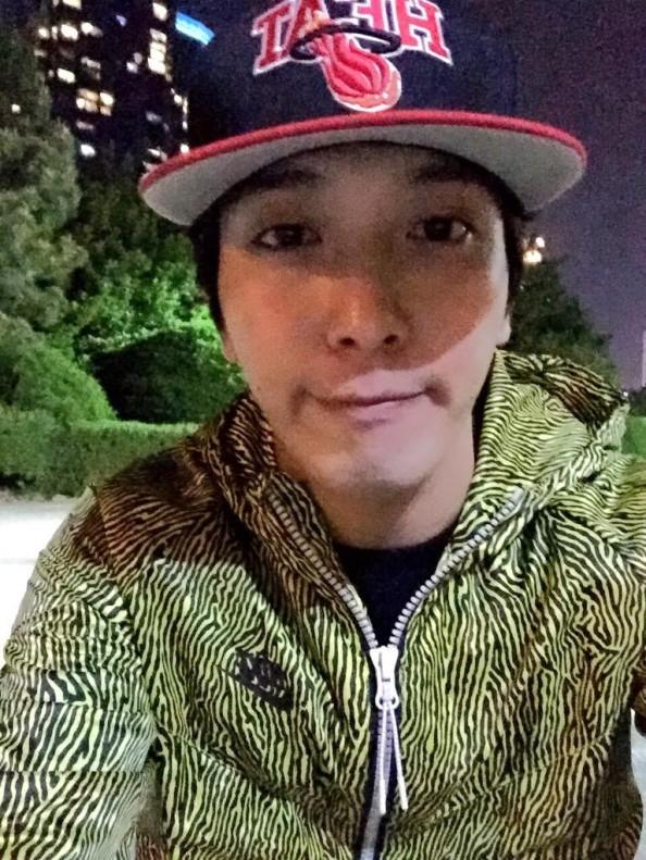 150427 yonghwa twitter update
