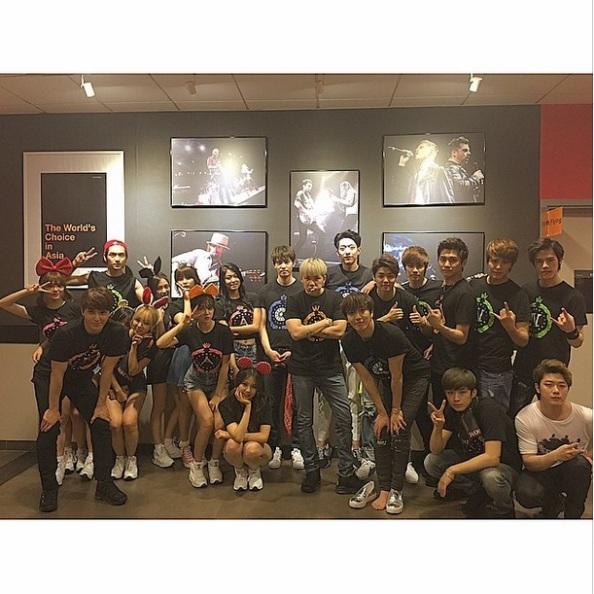 150516 Jungshin IG FNC Kingdom Hongkong