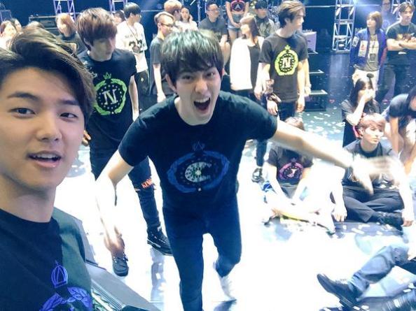 150516 minhyuk update FNC Kingdom Hongkong5