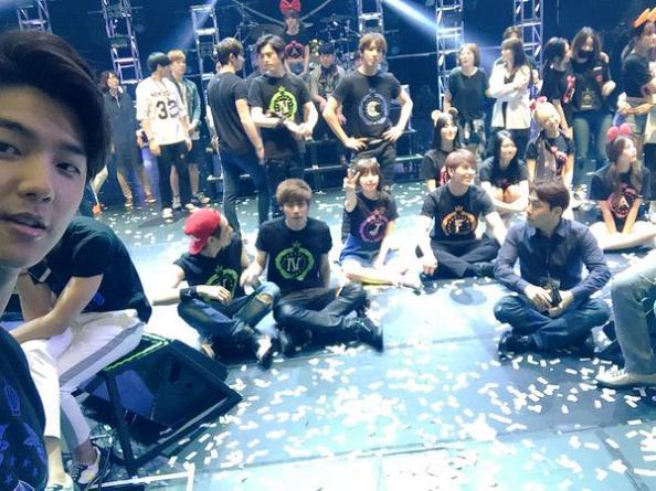 150516 minhyuk update FNC Kingdom Hongkong8