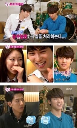 150613 wgm jonghyun & seungyeon with CNBLUE (4)