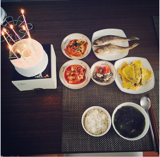 Camille Kostek On Twitter Birthday Dinner For My: Trans] Birthday Boy Jung Yonghwa Thanked