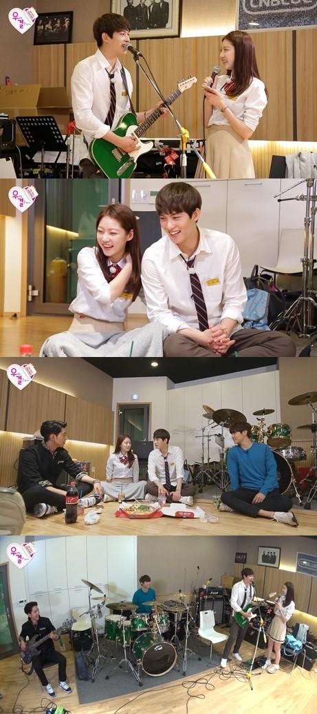 wgm jonghyun & seungyeon with CNBLUE